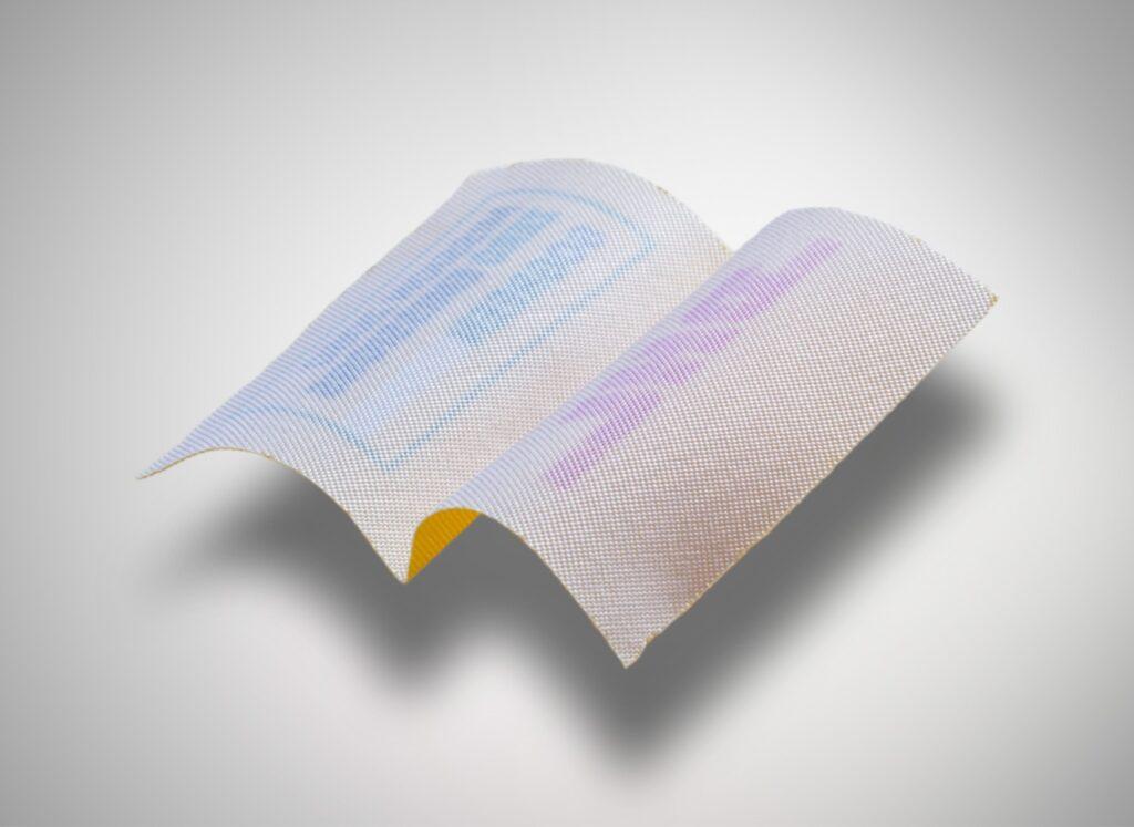 Print 'n weave label
